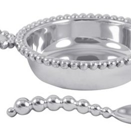 Mariposa Pearled Baby Porriger & Spoon