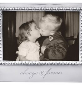 Mariposa 4 x 6 Always & Forever Beaded Frame