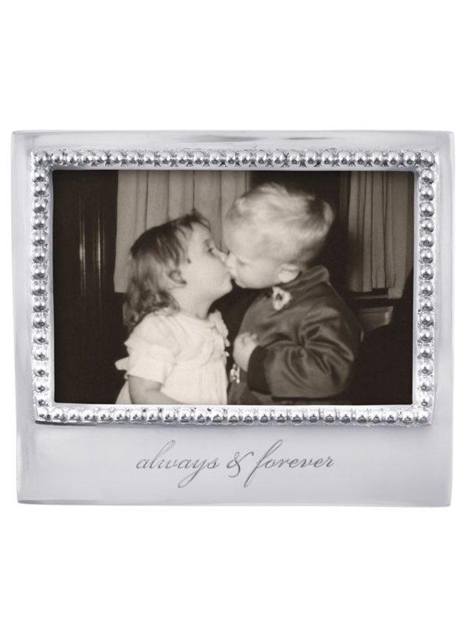 4 x 6 Always & Forever Beaded Frame