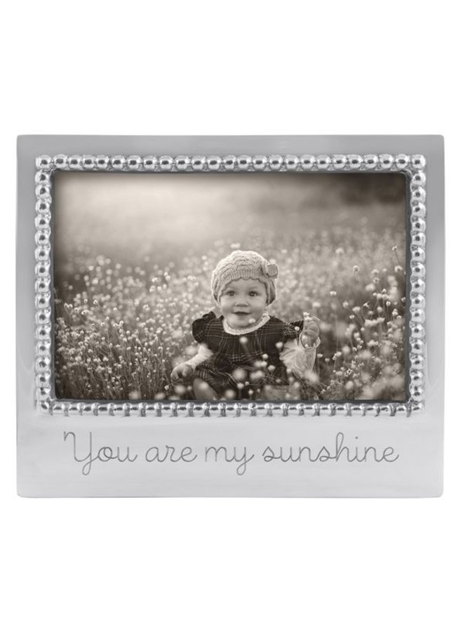 4 x 6 You are My Sunshine Beaded Frame