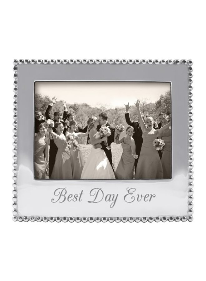 5 x 7 Best Day Ever Beaded Frame