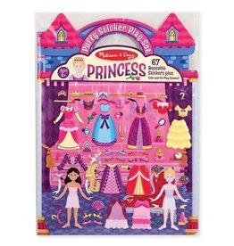 Melissa & Doug Puffy Sticker Play Set- Princess