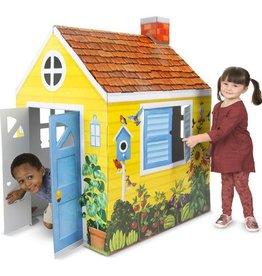 Melissa & Doug Cardboard Structure- Cottage