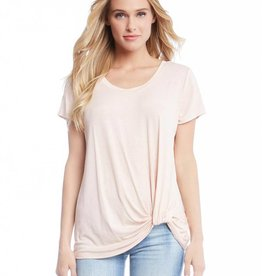 Fifteen Twenty Short Sleeve Pick Up Hem Top