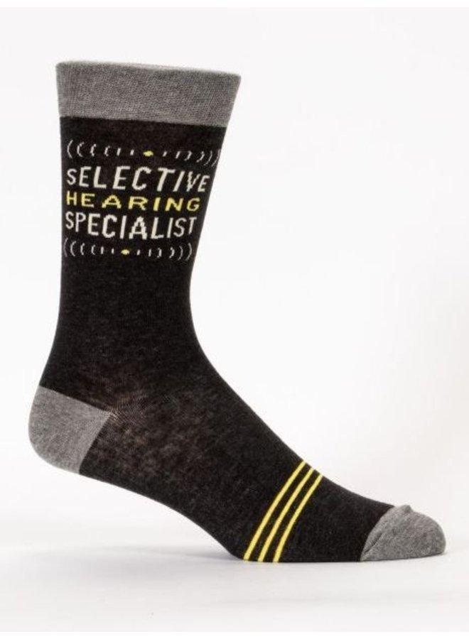 Men's Socks- Selective Hearing