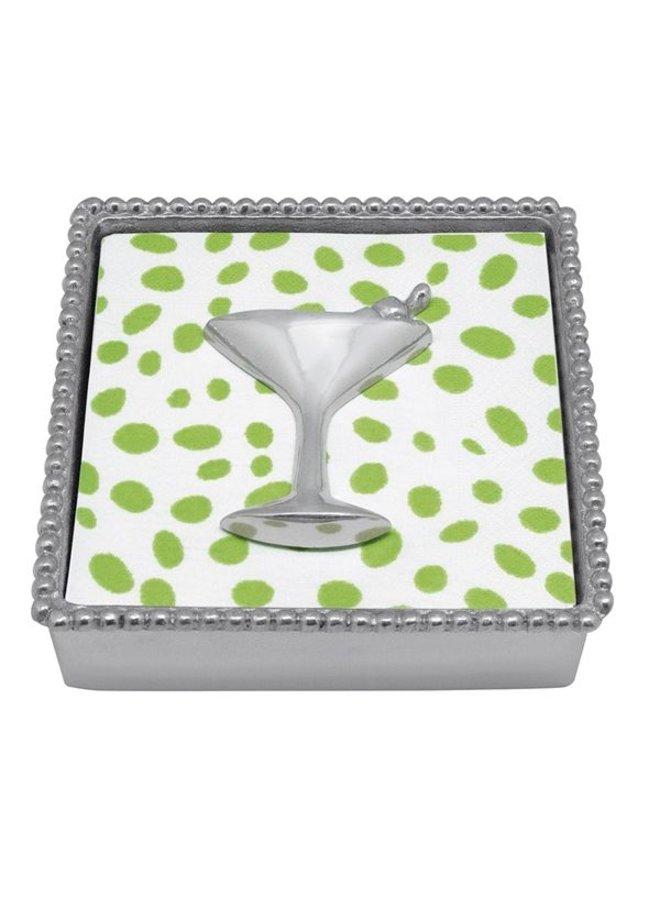Cocktail Beaded Napkin Box