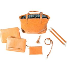 Bella Tunno Boss Bag Cognac Bag