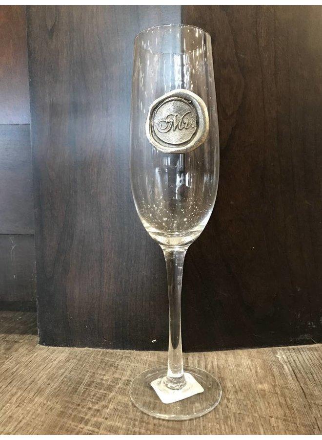 Champagne Flute- Mr.