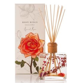 Rosy Rings Botanical Reed Diffuser-Apricot Rose