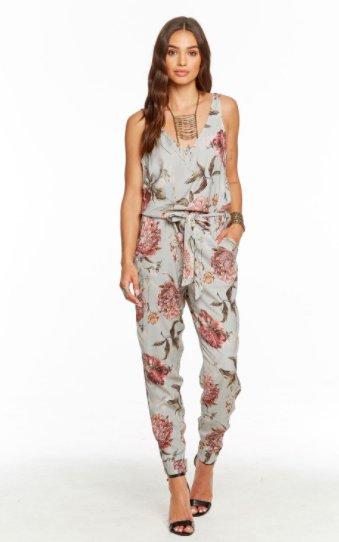 Ongebruikt Vintage Floral Jumpsuit - ivory & birch RG-09