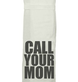 Twisted Wares Call Your Mom Towel