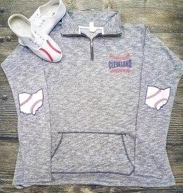 Ohriginal Cleveland Baseball Half Zip Pullover