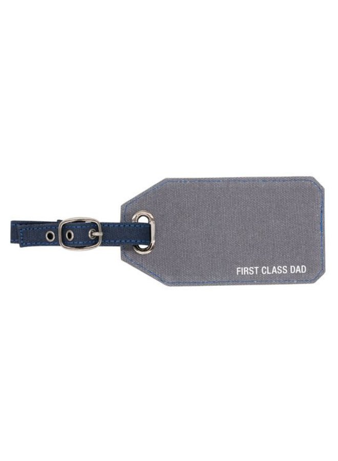 First Class Dad Luggage Tag