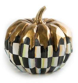 MacKenzie-Childs Golden Frost Pumpkin-Medium