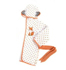 MacKenzie-Childs Fox Toddler Bath Robe - 2T