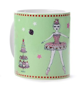 B Plus Printworks Nutcracker Coffee Mug