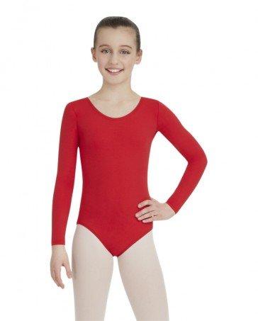 e2a908c96a11 Capezio Long Sleeve Leotard - Child - Dance Plus Miami