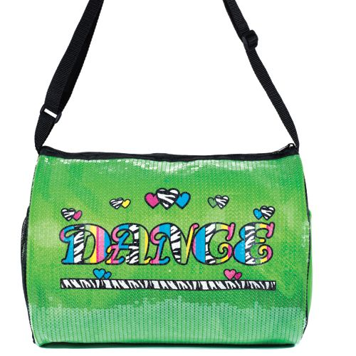 DASHA Dasha Neon Zebra Duffle