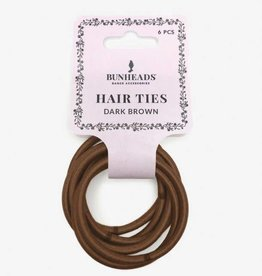 Capezio Hair Elastic Dark Brown