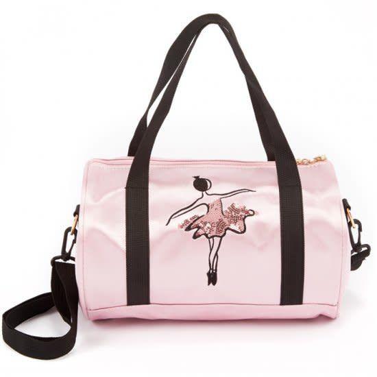 48d5569074a8 4908 Sequin Ballerina Duffle dance bag - Dance Plus Miami