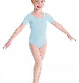 Bloch/Mirella Bloch Short Sleeve Leotard - Children