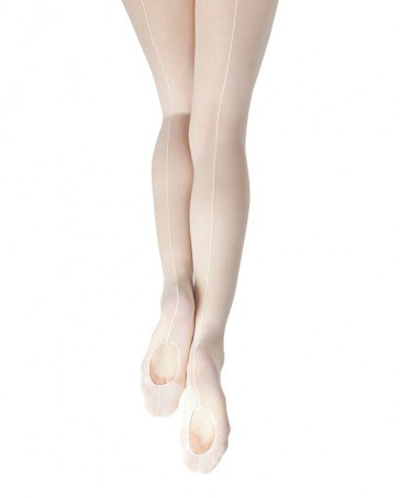 Capezio Capezio #19 Classic Mesh Transition Tight with Back Seam - Child