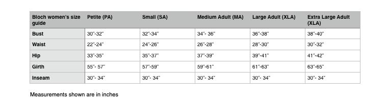 Bloch/Mirella M1013LM 3/4 Sleeve