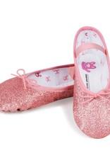 "Bloch/Mirella Bloch ""Glitterdust"" Full Sole Ballet Slipper-Toddler"