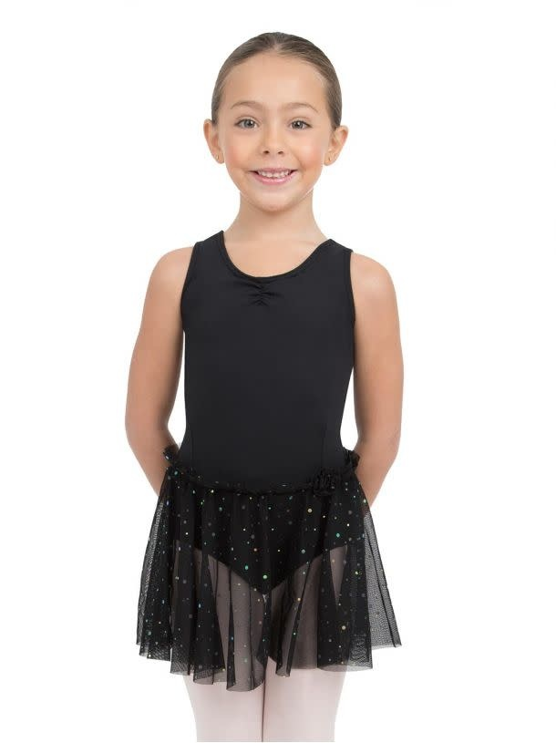 Capezio 11532C Glitter Rose Tank Dress