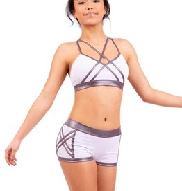 Capezio 11541W Cross Front Top