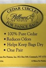 Pillows For Pointes Cedar sachets