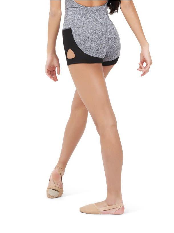 Capezio 11651T Keyhole Shorts