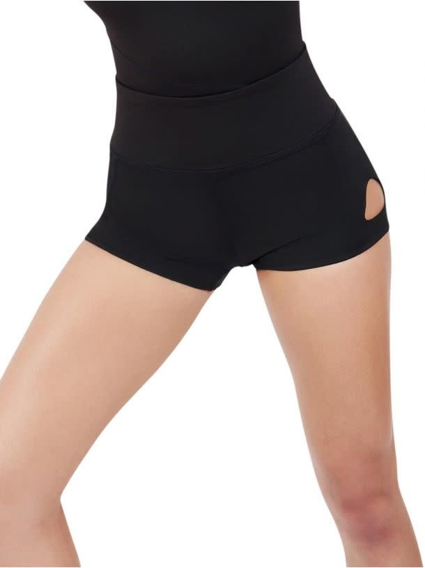 Capezio 11651W Keyhole Shorts