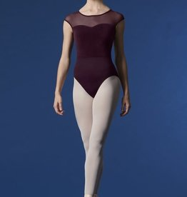 Bloch/Mirella M5077LM Velvet Cap Sleeve Open Back