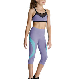 Bloch/Mirella KA039T Cross Back Crop Top