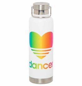 Sugar and Bruno S&B Heart Rainbow Bottle D9483