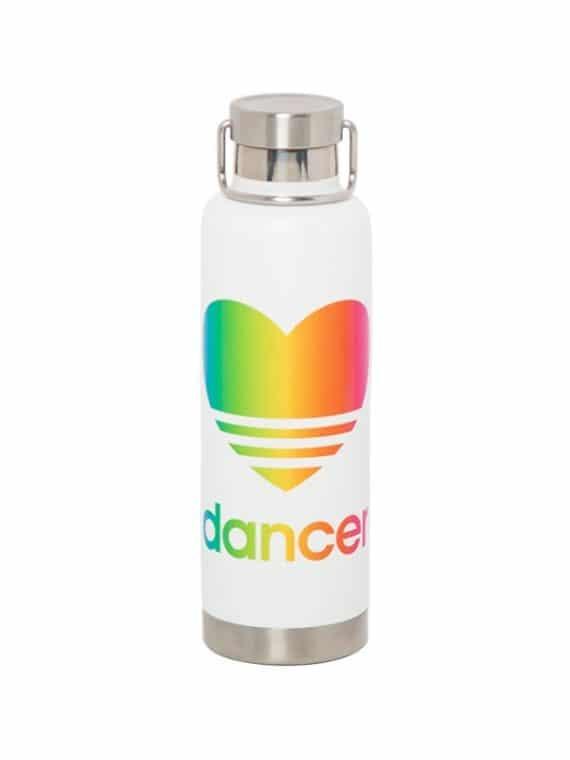 Sugar and Bruno S&B Heart Rainbow Bottle D9483