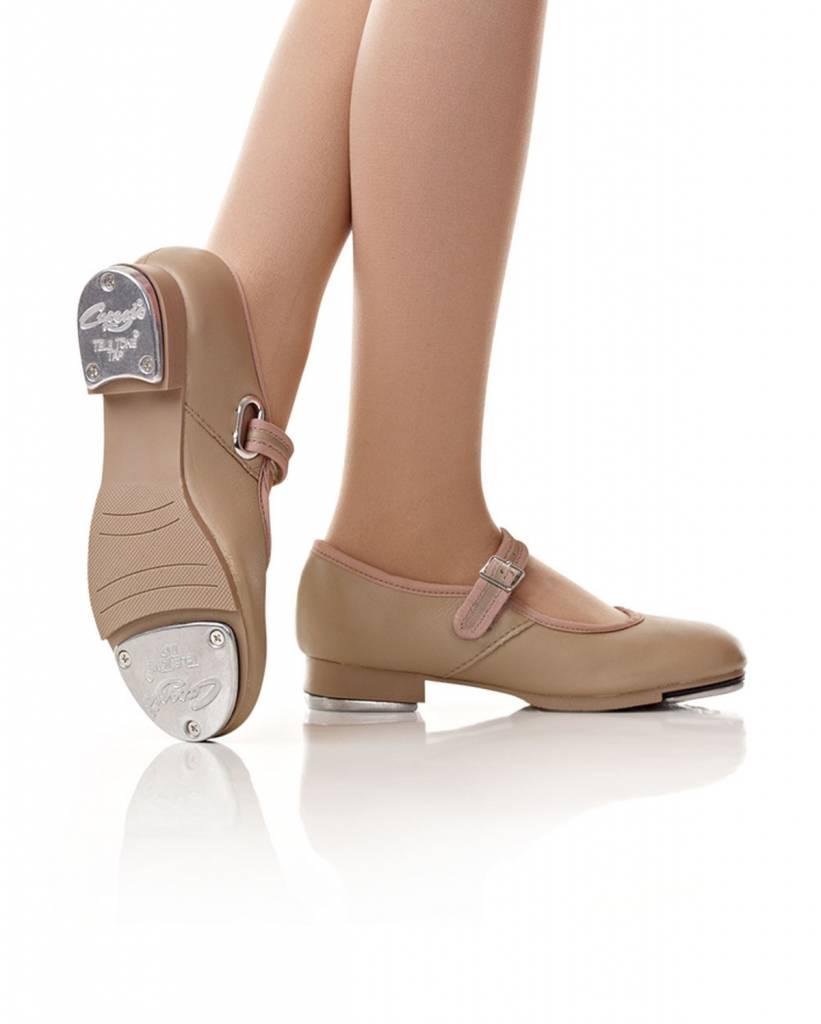 Capezio Capezio Mary Jane Caramel Tap Shoes - Child