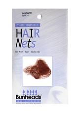 Capezio Bunheads Hair Nets - Auburn