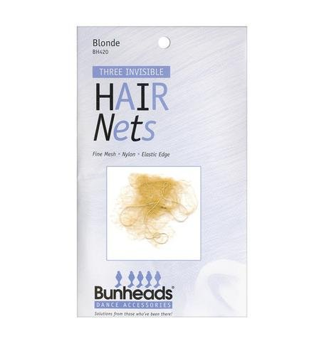 Capezio Bunheads Hair Nets - Blonde