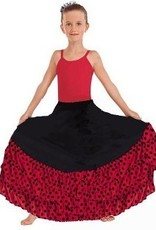 Eurotard Eurotard Flamenco Skirt w/ Dotted Ruffle - Child