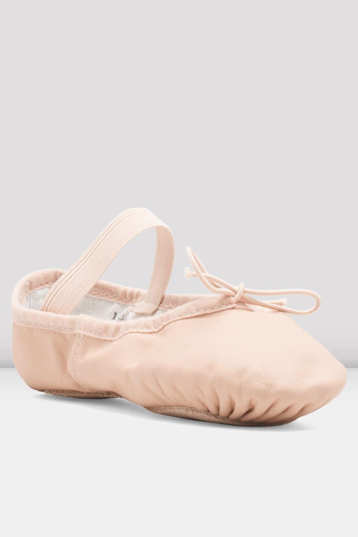 Bloch/Mirella Bloch Leather Full Sole Ballet Slippers - Child