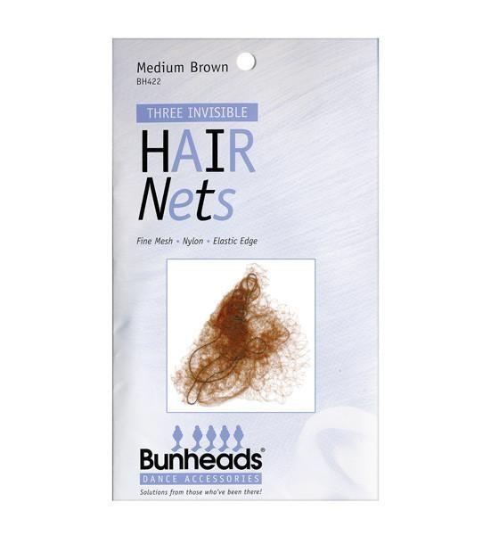 Capezio BH422 Hair Nets MBR