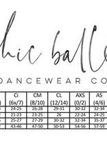 CHIC BALLET DANCEWEAR CHIC106 Faith