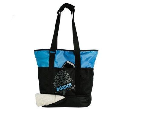 Horizon Horizon Tweet Tote Bag - Blue