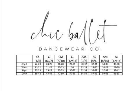 CHIC BALLET DANCEWEAR CHIC110 Juliette youth