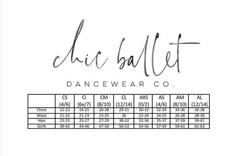 CHIC BALLET DANCEWEAR CHIC113 Madeline