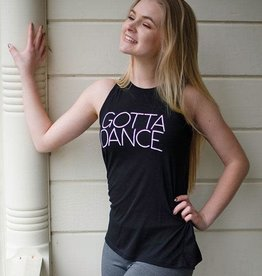 Covet Dance Gotta Dance slit back tank