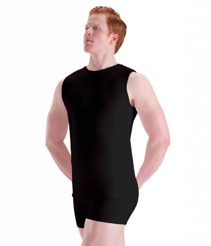 Motionwear Motionwear Men's Elastic-Waist Bike Shorts
