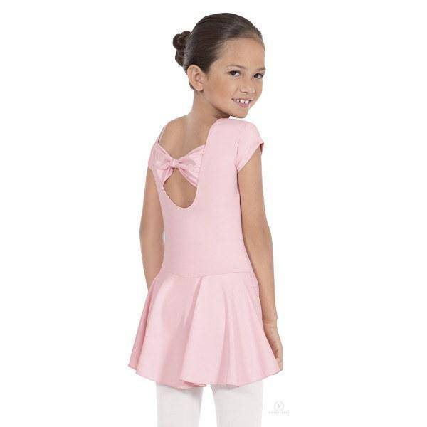 Eurotard Angelica Bow Back Leotard with Skirt